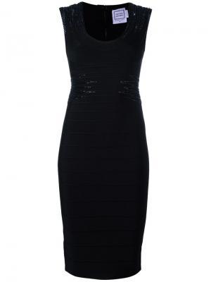 Janelle dress Hervé Léger. Цвет: чёрный