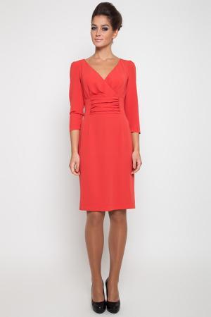 Платье NVCollection. Цвет: красный