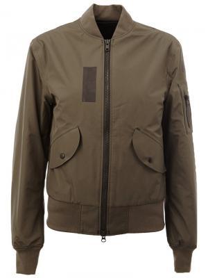 Куртка на молнии Yang Li. Цвет: зелёный