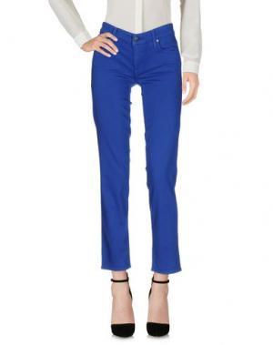 Повседневные брюки GENETIC DENIM. Цвет: синий