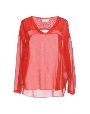 Блузка SONIA DE NISCO. Цвет: красный