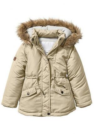 Куртка. Цвет: бежевый