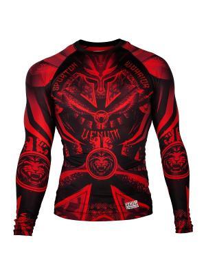 Рашгард Venum Gladiator Black/Red L/S. Цвет: черный, красный