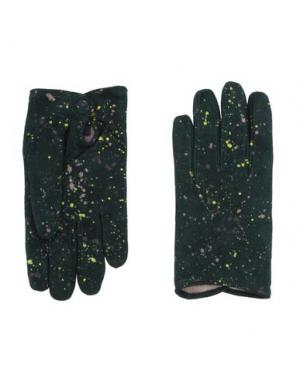 Перчатки FINGERS Venezia. Цвет: темно-зеленый