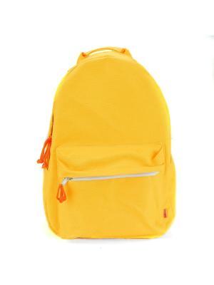 Городской рюкзак TIMBAG. Цвет: желтый