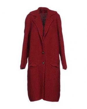 Легкое пальто B.YU. Цвет: красно-коричневый
