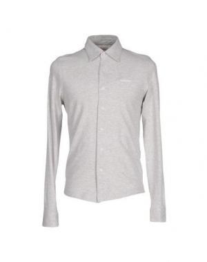 Pубашка ROŸ ROGER'S. Цвет: светло-серый