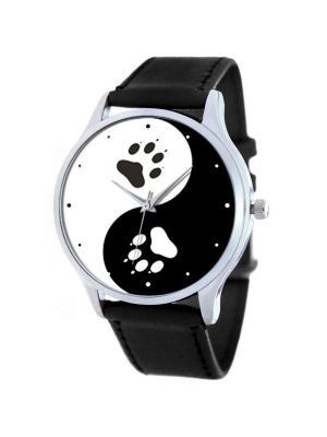 Дизайнерские часы Инь и Янь Tina Bolotina. Цвет: черный, белый