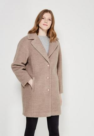 Пальто Fashion.Love.Story. Цвет: бежевый