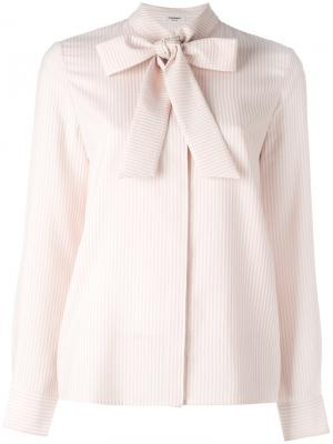 Рубашка Daisy Vilshenko. Цвет: розовый и фиолетовый