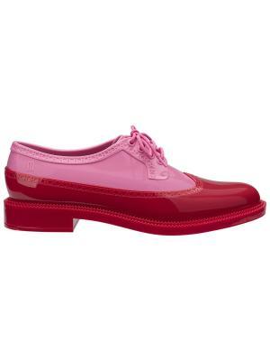 Туфли Melissa. Цвет: розовый, красный