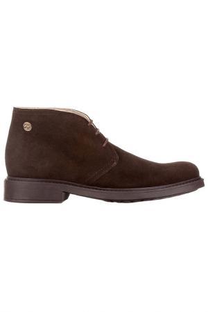 Ботинки CASTELLANISSIMOS. Цвет: коричневый