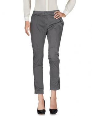 Повседневные брюки AGATHA CRI. Цвет: свинцово-серый