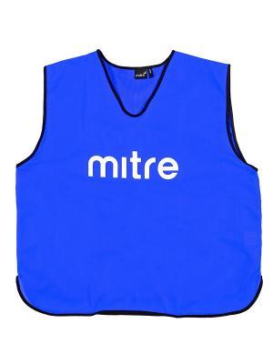 Накидка тренировочная MITRE. Цвет: синий