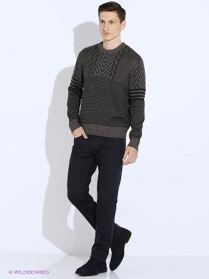 Джемпер JB casual. Цвет: темно-серый