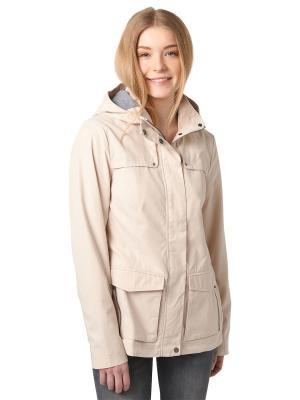 Куртка TOM TAILOR. Цвет: бежевый