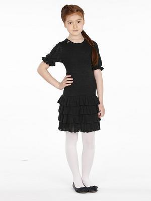 Платье SILVER SPOON. Цвет: темно-серый