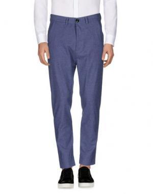 Повседневные брюки MOLO ELEVEN. Цвет: грифельно-синий