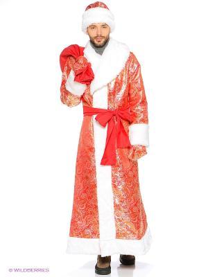 Дед Мороз боярский Волшебный мир. Цвет: красный