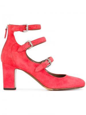 Туфли Ginger Tabitha Simmons. Цвет: розовый и фиолетовый