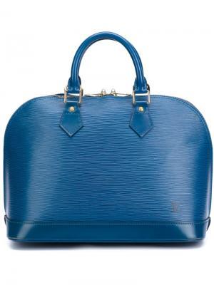 Сумка-тоут Alma PM Louis Vuitton Vintage. Цвет: синий