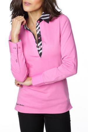Рубашка-поло GAZOIL. Цвет: розовый