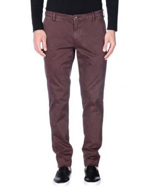 Повседневные брюки NEW ENGLAND. Цвет: баклажанный