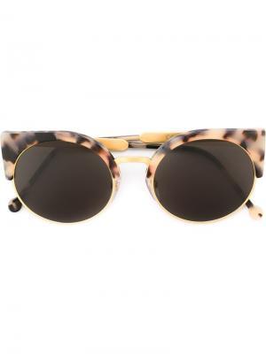 Солнцезащитные очки Ilaria Retrosuperfuture. Цвет: серый