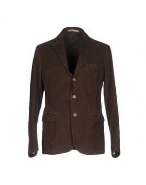 Пиджак JEY COLE MAN. Цвет: темно-коричневый
