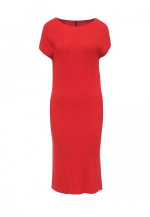 Платье United Colors of Benetton. Цвет: красный