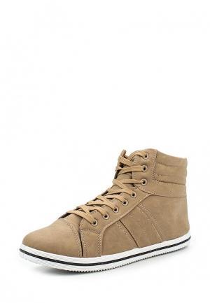 Кеды WS Shoes. Цвет: бежевый