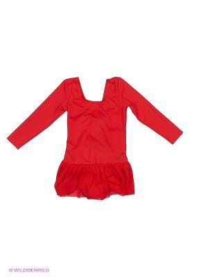 Купальник для девочек Arina Ballerina. Цвет: красный
