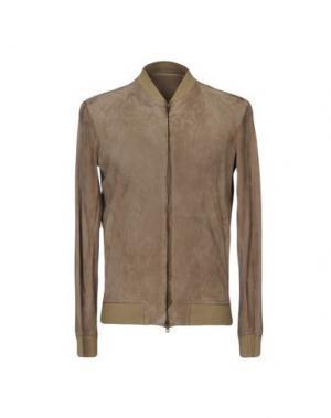 Куртка SALVATORE SANTORO. Цвет: хаки