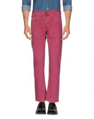 Повседневные брюки PT05. Цвет: розовато-лиловый