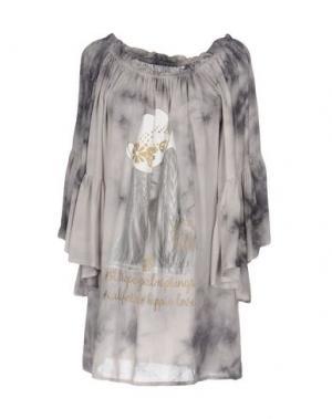 Блузка AU SOLEIL DE SAINT TROPEZ. Цвет: светло-желтый
