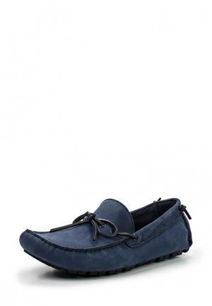 Мокасины Calvin Klein Jeans. Цвет: синий