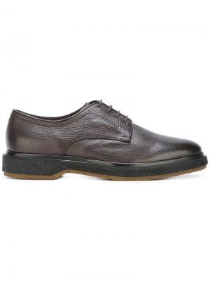 Туфли Дерби Henderson Baracco. Цвет: коричневый