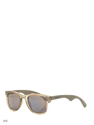 Солнцезащитные очки CARRERA 6000 QPW. Цвет: серый, коричневый