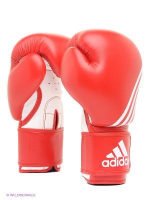 Перчатки боксерские Training Adidas. Цвет: красный