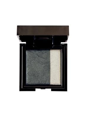 Запечённые двойные тени для сухого и влажного нанесения Noubatwin 30, 4гр NOUBA. Цвет: серебристый, антрацитовый