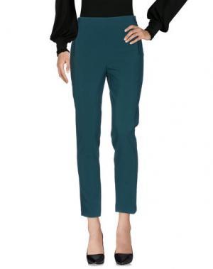 Повседневные брюки HANITA. Цвет: цвет морской волны