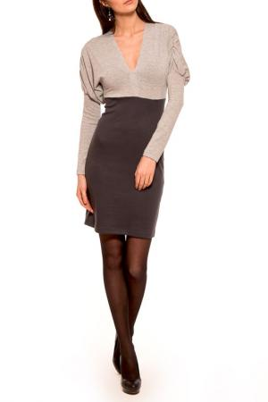 Платье Majaly. Цвет: серый