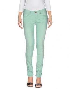 Джинсовые брюки STAFF JEANS & CO.. Цвет: светло-зеленый