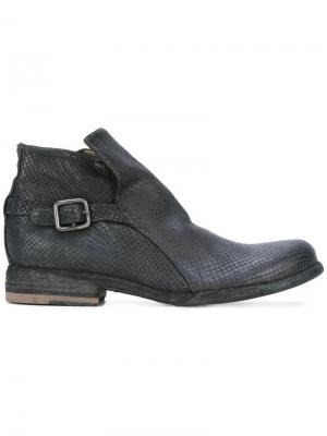 Ботинки на молнии Officine Creative. Цвет: чёрный