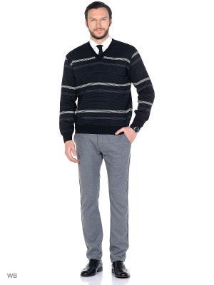 Пуловер FILPUCCI. Цвет: черный, темно-серый, белый