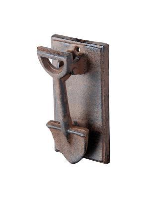 Дверная ручка молоток Esschert Design. Цвет: коричневый