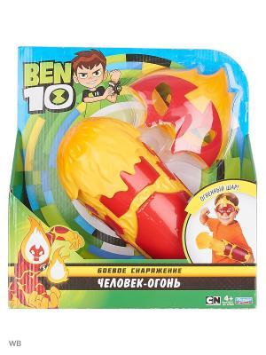 Ben 10 Боевое Снаряжение, Человек-Огонь. Цвет: красный
