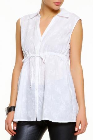 Рубашка BGN. Цвет: белый