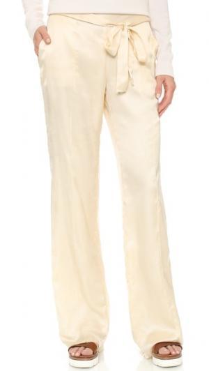 Широкие брюки St. Roche. Цвет: коричневый