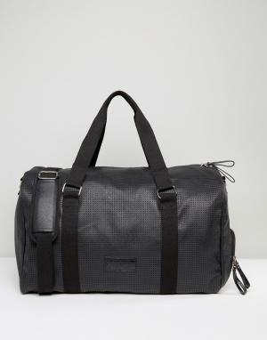 Systvm Черная полиуретановая сумка. Цвет: черный